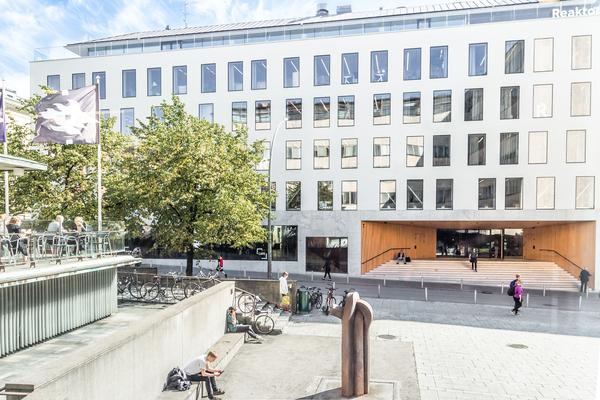 Think Corner, University of Helsinki <br> Photograph: Aino-Sofia Orjasniemi / University of Helsinki