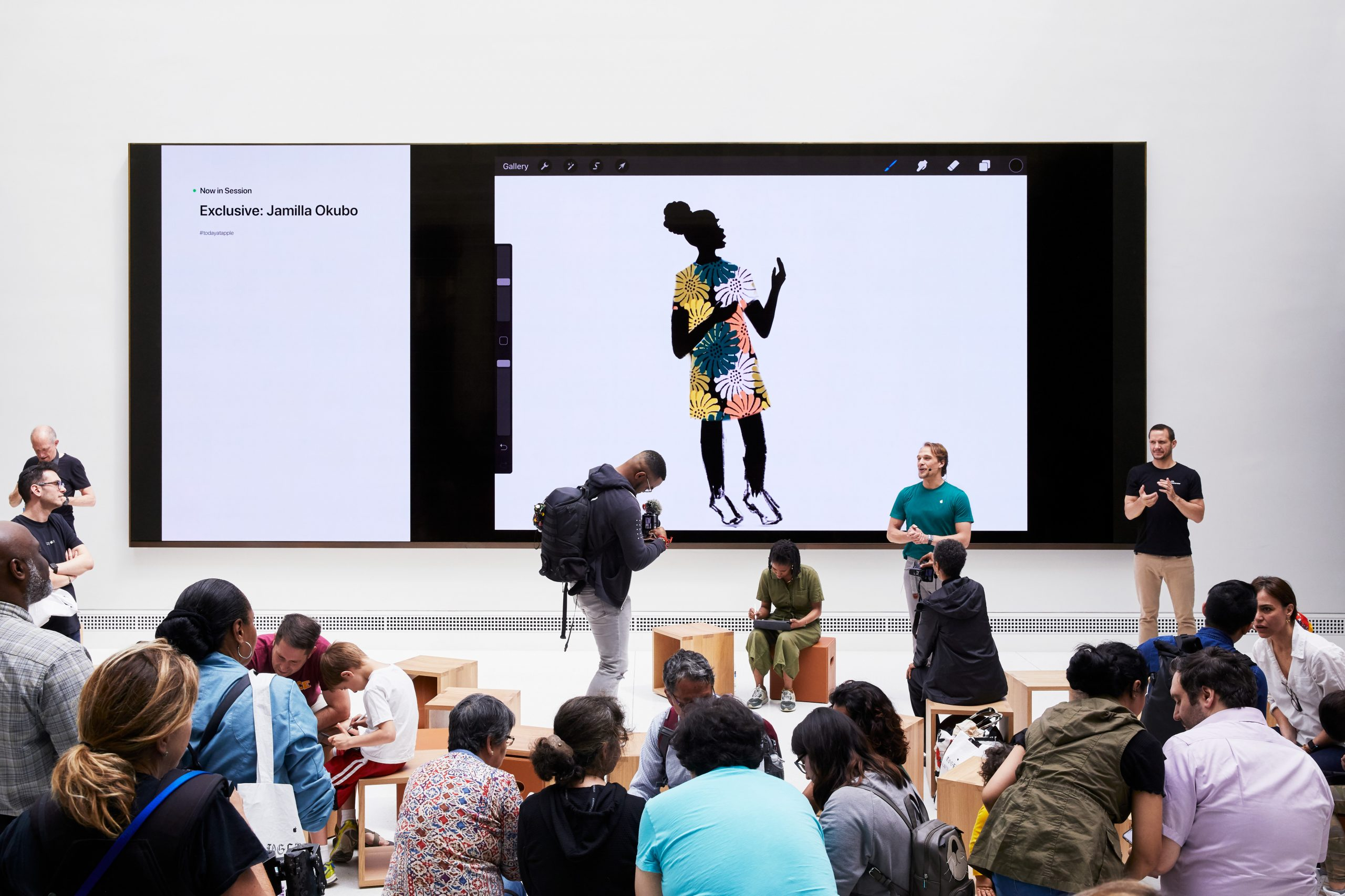 Today At Apple, Apple Carnegie Library, Washington D.C. <br> Photograph courtesy of Apple